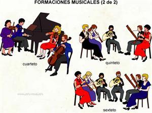 Agrupación musical (Diccionario visual)