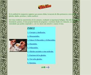 Glúcidos (Aula Virtual de Biología Universidad de Murcia)