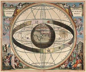 La teoría geocéntrica de Ptolomeo