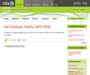 Van Gelderen, Adolfo (1835-1918)