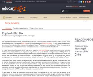 8va Región Patrimonio Regional (Educarchile)