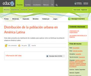 Ciudades grandes, medianas y pequeñas de América latina