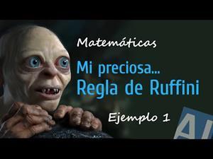 Matemáticas - Regla de Ruffini
