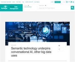 Las Tecnologías Semánticas apuntalan la Inteligencia Artificial conversacional