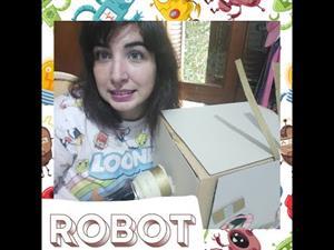 TEATRO 🎭.El niño robot.Poesía.Armado de casco.Juego con tarjetas