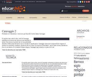 Caravaggio 2 (Educarchile)