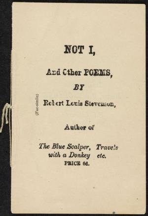 Not I and other poems (International Children's Digital Library)