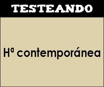 Historia del mundo contemporáneo - Asignatura completa. 1º Bachillerato (Testeando)