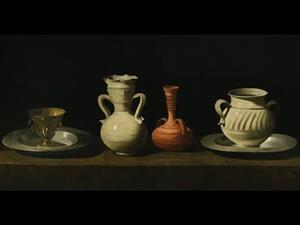 Bodegón con cacharros, de Francisco de Zurbarán