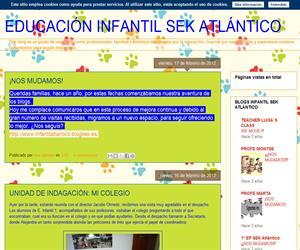 Educación Infantil SEK Atlántico (Blog Educativo de Educación Infantil)