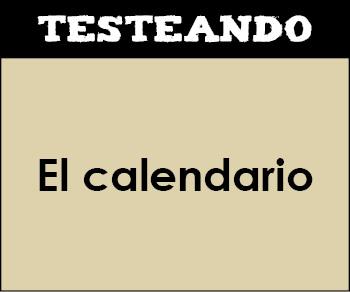 El calendario. 2º Primaria - Matemáticas (Testeando)
