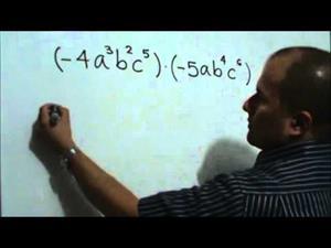 Multiplicación de Monomios (JulioProfe)