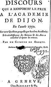 Rousseau: Discurso sobre las artes y las ciencias (Didactfilo)