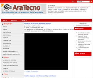 AraTecno: Portal temático de tecnología y electrónica