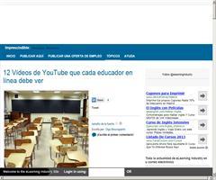 12 Vídeos de YouTube que cada educador en línea debe ver | E-Learning Industry