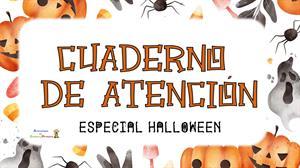 Cuaderno de atención de Halloween