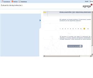 Evaluación de equivalencias I