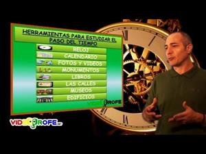 El paso del tiempo. Pasado, presente y futuro (videoprofe.net)