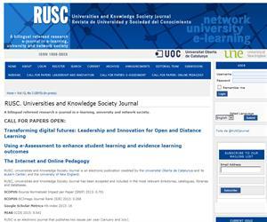 Revista de Universidad y Sociedad del Conocimiento. UOC