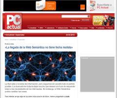 La llegada de la Web Semántica no tiene fecha realista