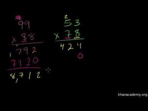 Multiplicación 6 Cifras Múltiples (Khan Academy Español)