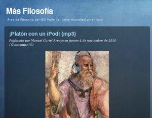 Más Filosofía, contenidos educativos para Historia de la Filosofía