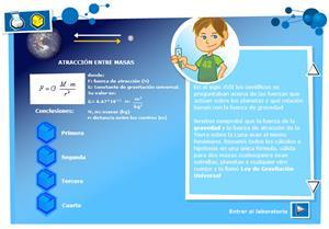 Atracción entre masas. Física y Química 3º ciclo de Primaria