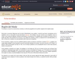 7ma Región Pueblos Originarios (Educarchile)