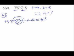 Propiedad para el conjugado de un producto (Binómica)