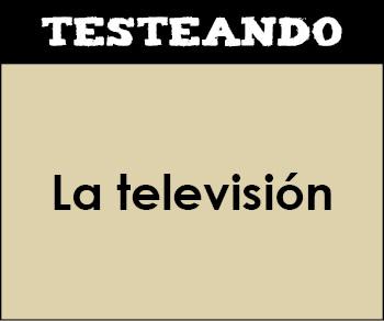 La televisión. 6º Primaria - Inglés (Testeando)