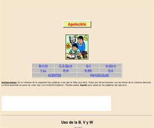Reglas de uso de varias letras y de las palabras con mayúsculas y acentos (VII)
