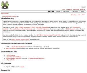 Exelearning, una herramienta educativa para crear Unidades Didácticas multimedia