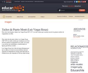 Techos de Puerto Montt (Luis Vargas Rosas) (Educarchile)
