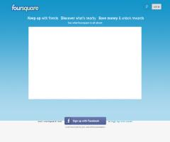 Foursquare (las cuatro esquinas): una red social para compartir tu ubicación con tus amigos