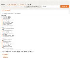 Todos los Cursos de FP de Grado Superior que pueden estudiarse actualmente en España