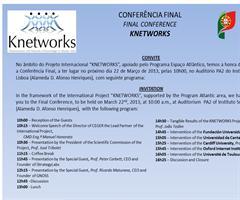 Ricardo A. Maturana, director de GNOSS, participa en Knetworks Final Conference de Lisboa (Marzo 2013)