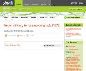 Golpe militar y terrorismo de Estado (1976)