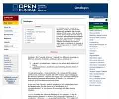 OpenClinical: Ontologies