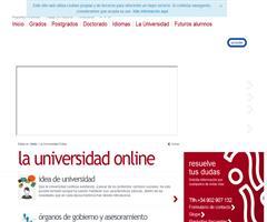Estudiar en la Universidad a Distancia Online - Universidad UNIR