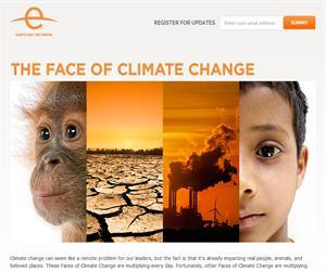 Día mundial de la Tierra 2013: La cara del cambio climático