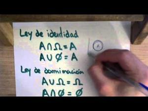 18 Teoria de Conjuntos || Ley de Dominación | Matemática Discreta