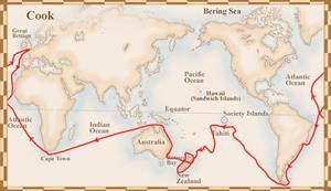 Grandes exploradores: James Cook, navegando por los mares del sur (Segunda parte)