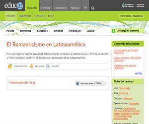 El Romanticismo como movimiento (I)