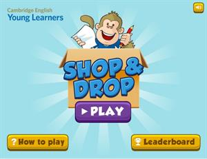 Shop & Drop Learning Game (Cambridge English)