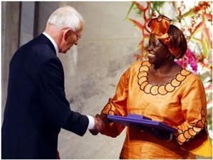 Wangari Maathai: una mujer por el cambio (unizar.es)