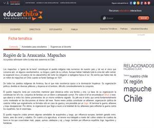 9na Región Mapuches (Educarchile)
