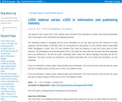 LOD2 webinar series: LOD2 in information and publishing industry