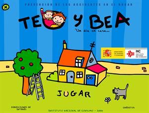 TEO Y BEA, un día en casa