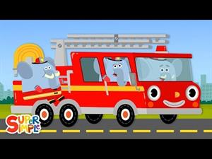 Here Comes The Fire Truck