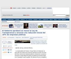 El Gobierno aprobará en marzo la Ley de Transparencia (Europa Press)